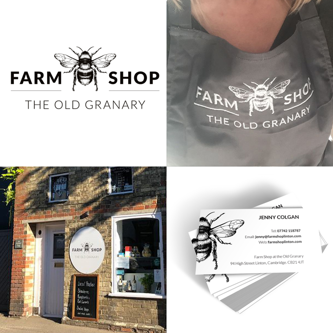 The Farm Shop brand identity