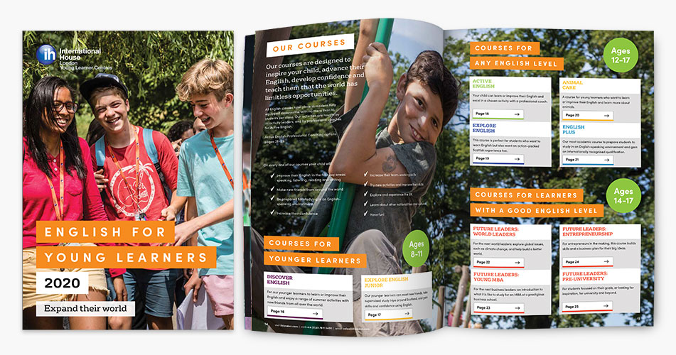 IH London Young Learner brochure