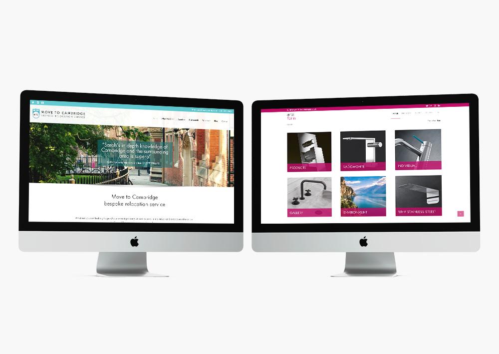 Web screens