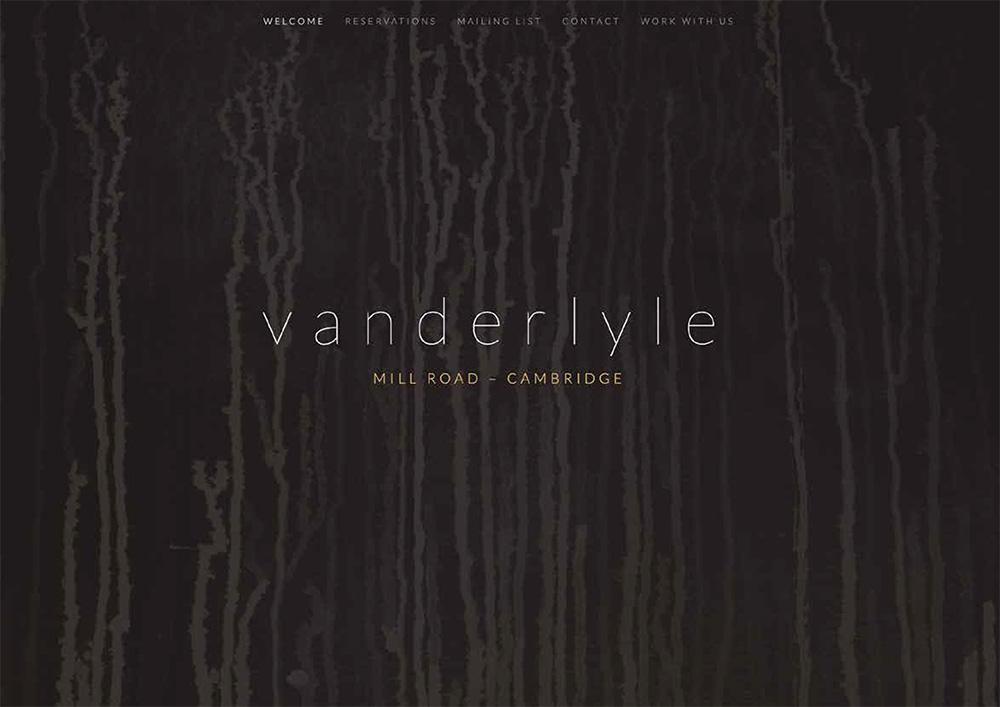 Vanderlyle website